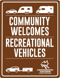 community welcomes signage